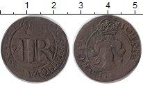 Изображение Монеты Европа Швеция 2 эре 1591 Медь VF