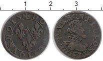 Изображение Монеты Европа Франция 2 торнуа 0 Медь XF-