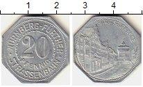 Изображение Монеты Германия Нюрнберг 20 пфеннигов 0 Алюминий XF