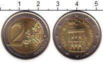Изображение Монеты Сан-Марино 2 евро 2012 Биметалл UNC-