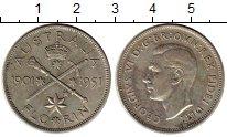 Изображение Монеты Австралия 1 флорин 1951 Серебро XF