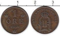 Изображение Монеты Европа Швеция 1 эре 1880 Бронза XF