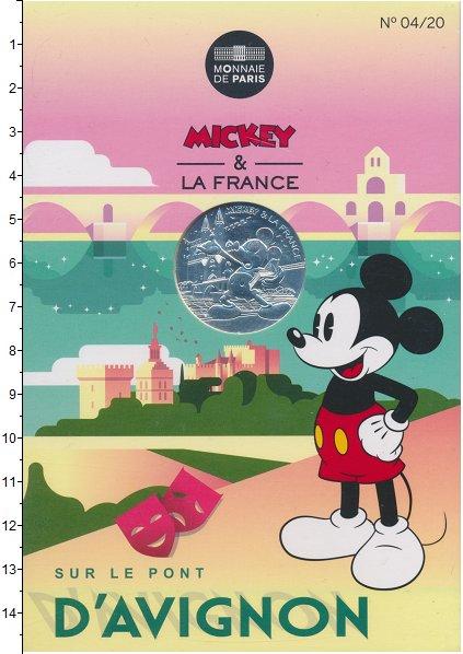 Изображение Подарочные монеты Франция 10 евро 2018 Серебро UNC