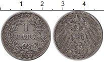 Изображение Монеты Германия 1 марка 1893 Серебро XF