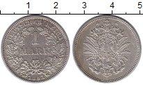 Изображение Монеты Германия 1 марка 1881 Серебро XF