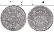Изображение Монеты Германия 1 марка 1874 Серебро XF F