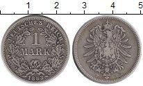 Изображение Монеты Европа Германия 1 марка 1883 Серебро XF