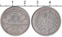 Изображение Монеты Европа Германия 1 марка 1887 Серебро XF