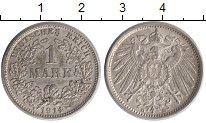Изображение Монеты Германия 1 марка 1914 Серебро XF D