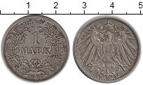 Изображение Монеты Германия 1 марка 1907 Серебро XF D