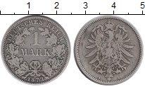Изображение Монеты Европа Германия 1 марка 1873 Серебро XF
