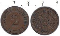 Изображение Монеты Европа Германия 2 пфеннига 1913 Медь XF