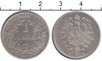 Изображение Монеты Германия 1 марка 1875 Серебро XF B