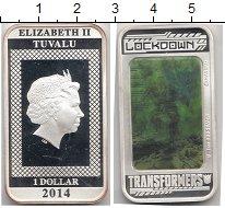 Изображение Монеты Австралия и Океания Тувалу 1 доллар 2014 Серебро Proof