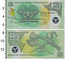 Изображение Банкноты Папуа-Новая Гвинея 2 кины 1991  UNC