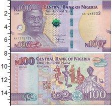Изображение Банкноты Африка Нигерия 100 найр 2014  UNC