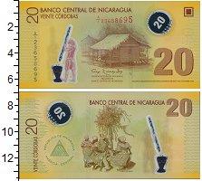 Изображение Банкноты Северная Америка Никарагуа 20 кордоба 2007 Пластик UNC