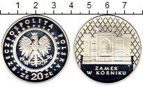Изображение Монеты Польша 20 злотых 1998 Серебро Proof
