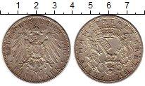 Изображение Монеты Германия Бремен 5 марок 1906 Серебро XF+