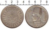 Изображение Монеты Египет 20 пиастров 1939 Серебро XF