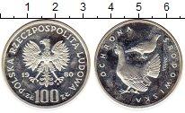 Изображение Монеты Польша 100 злотых 1980 Серебро Proof-