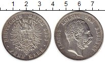 Изображение Монеты Германия Саксония 5 марок 1889 Серебро XF