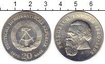 Изображение Монеты Германия ГДР 20 марок 1970 Серебро UNC-