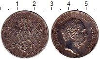 Изображение Монеты Германия Саксония 2 марки 1900 Серебро XF