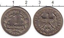 Изображение Монеты Третий Рейх 1 марка 1936 Медно-никель XF