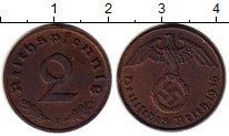 Изображение Монеты Третий Рейх 2 пфеннига 1936 Бронза XF