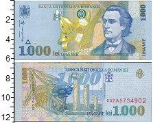 Изображение Банкноты Румыния 1000 лей 1998  UNC