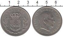 Изображение Монеты Европа Дания 5 крон 1964 Медно-никель UNC-