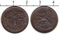Изображение Монеты Финляндия 1 марка 1948 Железо XF