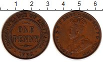 Изображение Монеты Австралия 1 пенни 1935 Бронза XF