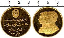 Изображение Монеты Азия Иран Медаль 1977 Золото Proof-