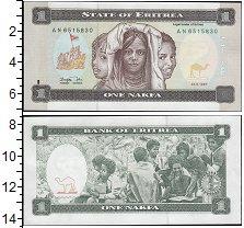 Изображение Банкноты Африка Эритрея 1 накфа 1997  UNC
