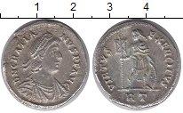 Изображение Монеты Древний Рим Тяжелый милиаренс 0 Серебро VF Император Грациан