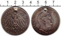 Изображение Монеты Германия Пруссия 5 марок 1908 Серебро VF