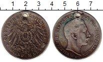 Изображение Монеты Пруссия 5 марок 1900 Серебро VF