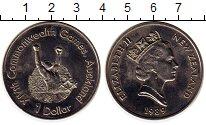 Изображение Монеты Новая Зеландия 1 доллар 1989 Медно-никель UNC- Игры содружества, бо