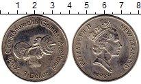 Изображение Монеты Новая Зеландия 1 доллар 1989 Медно-никель UNC-