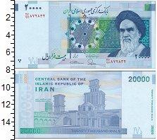 Изображение Банкноты Иран 20000 риалов 2014  UNC