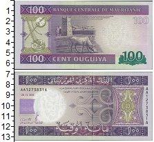Изображение Банкноты Африка Мавритания 100 оагуйя 2011  UNC