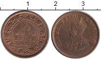 Изображение Монеты Азия Индия 1/12 анны 1932 Бронза XF+