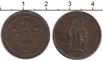 Изображение Монеты Швеция 2 эре 1889 Бронза XF