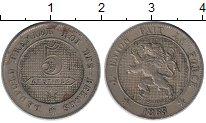 Изображение Монеты Европа Бельгия 5 сантим 1863 Медно-никель XF