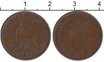 Изображение Монеты Великобритания 1 фартинг 1886 Бронза XF-