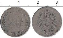 Изображение Монеты Германия 20 пфеннигов 1873 Медно-никель VF
