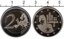 Изображение Монеты Европа Словения 2 евро 2011 Биметалл UNC