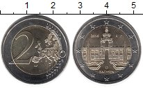 Изображение Монеты Германия 2 евро 2016 Биметалл UNC